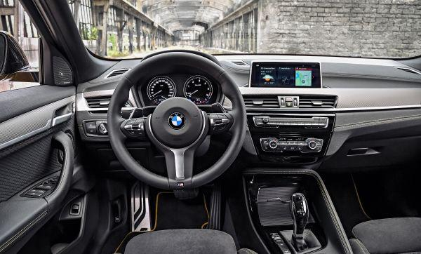 BMW X2 Interior Cockpit