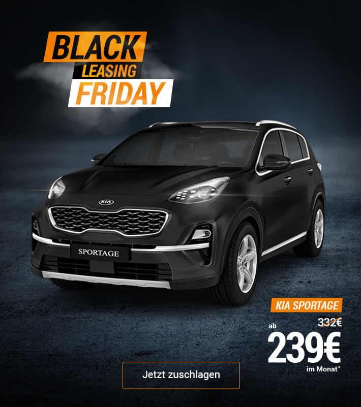 Black Leasing Friday: KIA Sportage