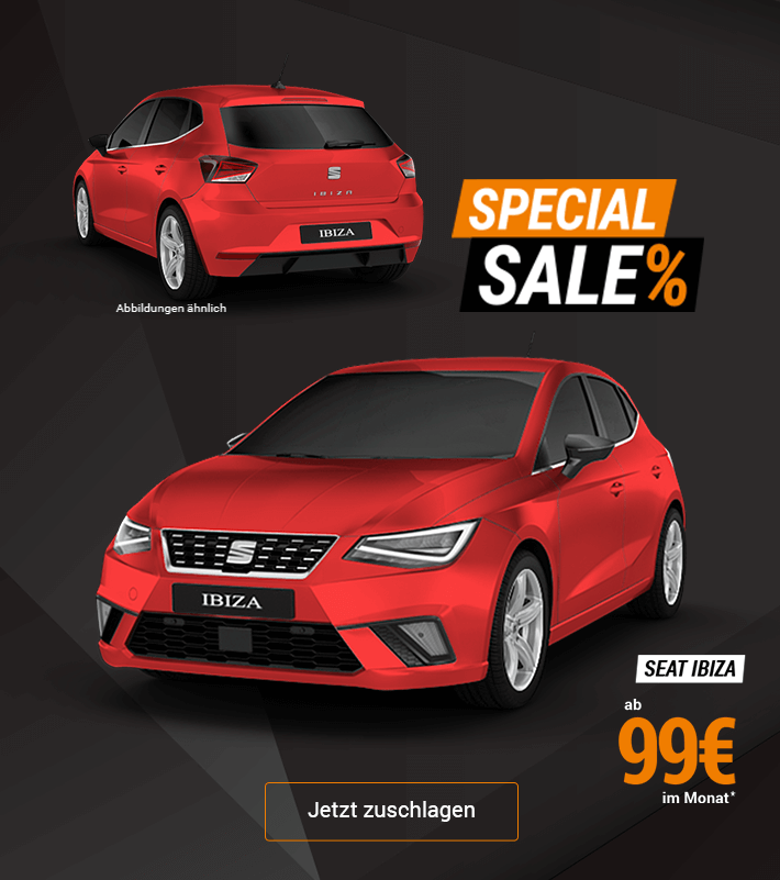 Special Sale SEAT Ibiza Angebot