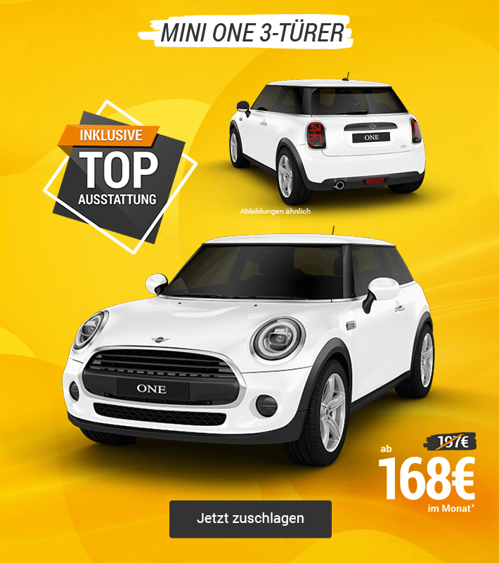 MINI One Angbeot sichern