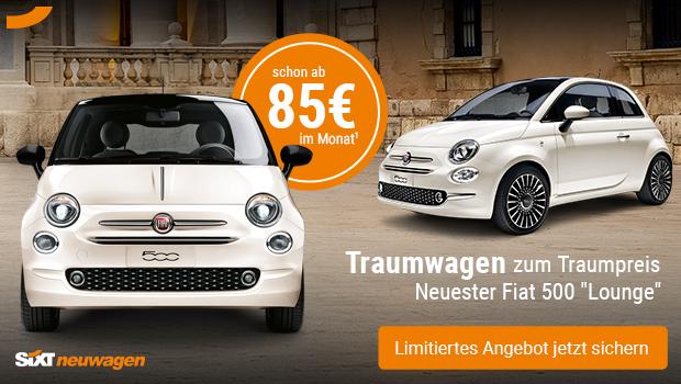 Fiat 500 - Angebot des Monats