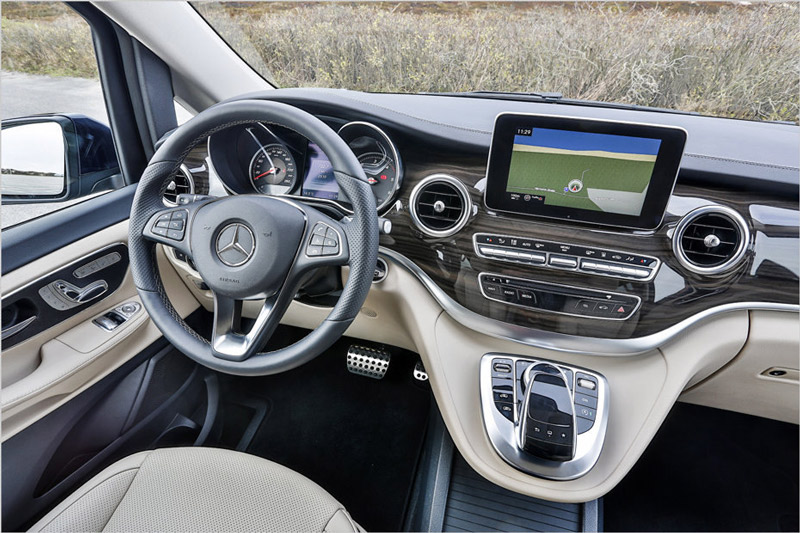 Mercedes-Benz Marco Polo Cockpit
