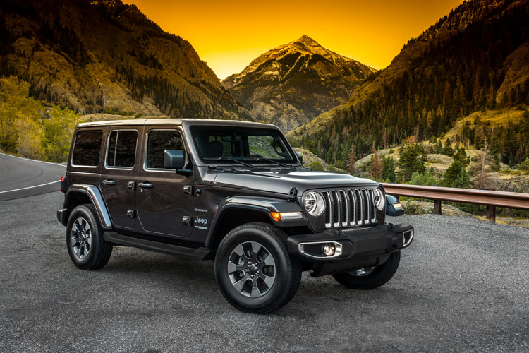 Jeep Wrangler 2018 Exterior Front
