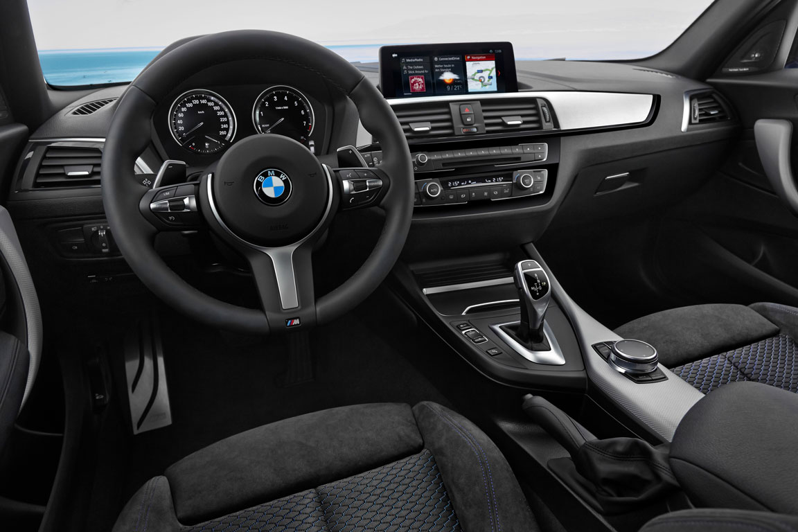 Neue bmw 1er generation ab juli 2017 sixt neuwagen for Serie 1 interieur