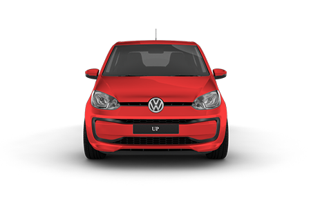VW Up! Frontansicht