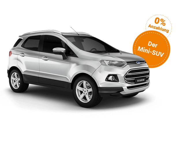 Ford EcoSport Deal Neuwagen